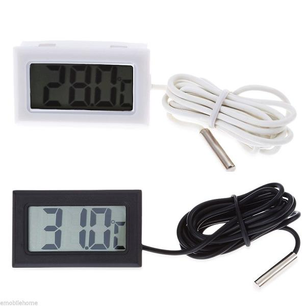Aquarium Fish Tank Waterproof Thermometer