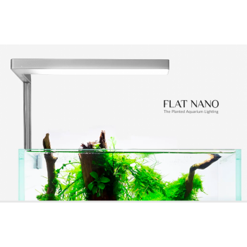 ONF Flat Nano - The Planted Aquarium Lighting,for 2~7gallon Fish Tank, Colorfull LED, Full Spectrum