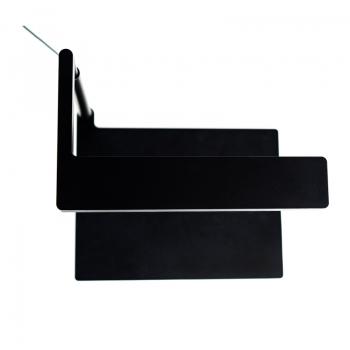 ONF Flat Nano Stand Black, 7000K - The Planted Aquarium Lighting 居家桌上型水陸植物培育燈具 (黑色)